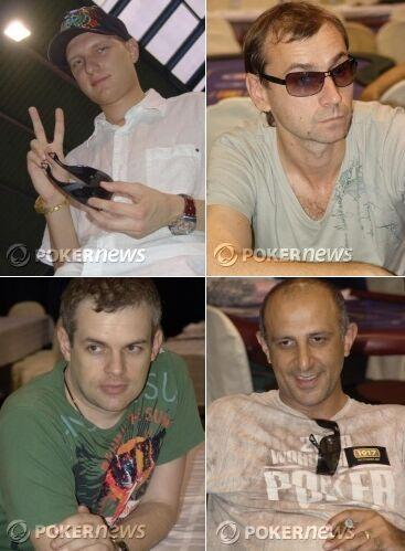 Станислав Алехин, Сергей Бутеев, Александр Денисов, Валерий Иликян