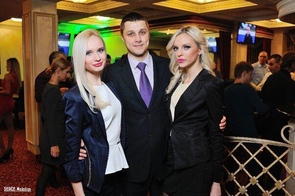 Кристина, Виктор, Полина - менеджеры клуба