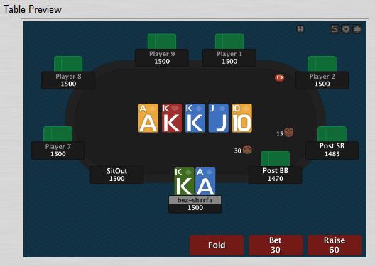лейаут для покердом