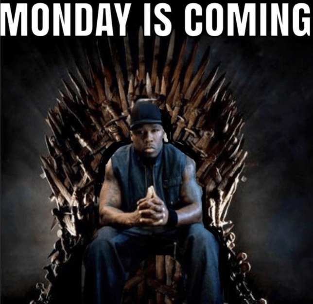 Game of Thrones Sunday, Game of Loans Monday