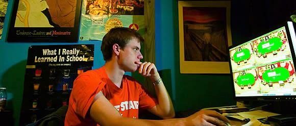 Джейсон Страссер в общаге, 2006 год