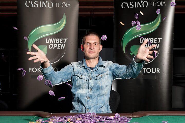 Дмитрий Варламов, победитель Unibet Open Troia