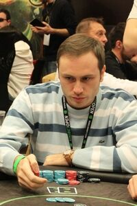 Максим Тюрин на турнире в Будапеште