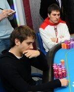 Курсевич и Маркушевский в те времена, когда им ещё приходилось самим играть в покер
