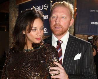 Борис Беккер и его жена Лилли