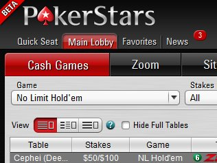 PokerStars 7 для профессионалов