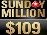 Sunday Million теперь по $109