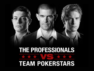 The Professionals VS Team PokerStars
